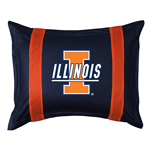 NCAA Illinois Fighting Illini Sideline Sham (Illinois Sham)