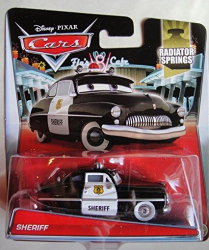 [DISNEY PIXAR CARS 2015 RELEASE RADIATOR SPRINGS #3/19 SHERIFF DIE-CAST] (Sheriff Hats For Sale)