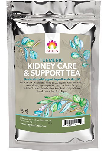 Shifa Kidney Care & Support Tea - with Herbs, Phytoneutrients and Antioxidants (1.75 oz.) (Best Herbal Tea For Kidneys)
