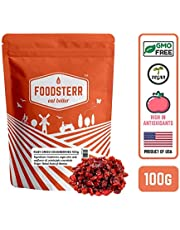 Foodsterr Ruby Dried Cranberries, 100g