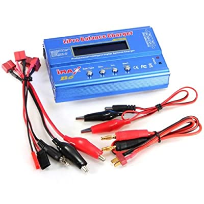 ThinkMax iMAX B6 Balance Battery Charger RC Lipo Nimh Nicd Digital Discharger DC LCD Fast