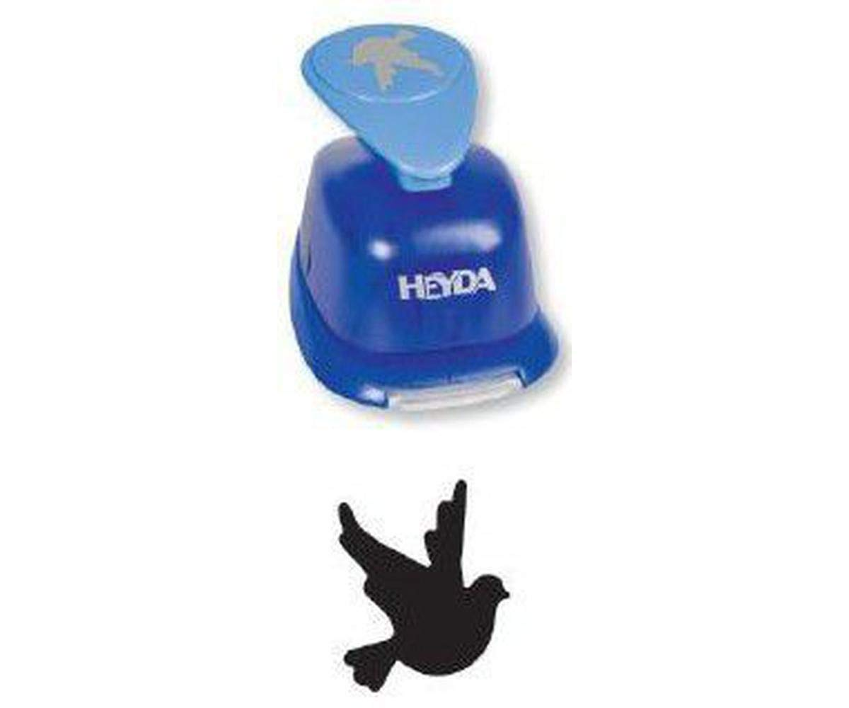 Puncher Blue 22mm - Dove, Hole Punch, Art Supplies, Heyda