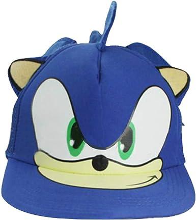 Sonic Cap Hip-Hop - Disfraz de Lengua de Pato con Gorro de Erizo ...