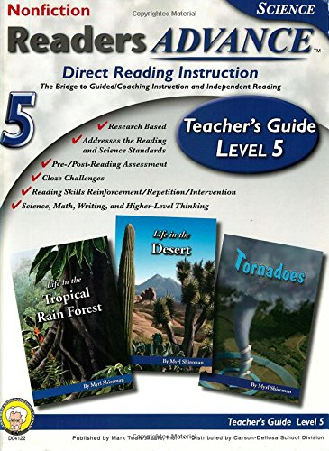 Download Readers Advance™ Teacher's Guide Level 5 with CD-ROM, Grade 5 pdf