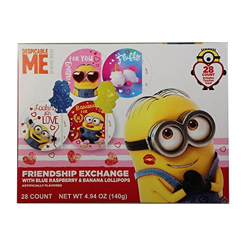 Valentine's Day Universal Minions and Disney Cars 3
