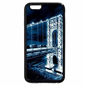 iPhone 6S / iPhone 6 Case (Black) New York George Washington Bridge