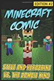 Minecraft Comic Book: Steve and Herobrine vs. the Zombie King - Edition #2, Minecraft Novels, 1499505531