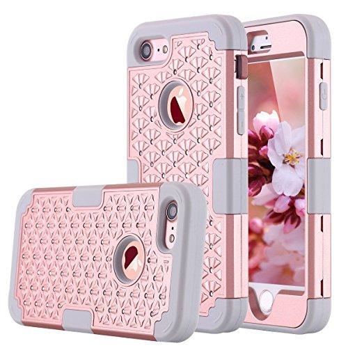 iphone-7-case-greenelec-diamond-studded-bling-rhinestone-hybrid-heavy-duty-dual-layer-armor-defender
