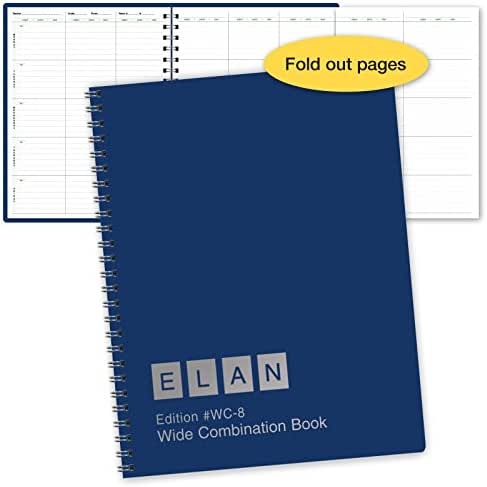 Combination Wide Plan and Record Book: One Efficient 8-1/2