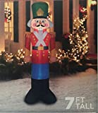 Nutcracker Christmas Toy Soldier Inflatable 7' Tall