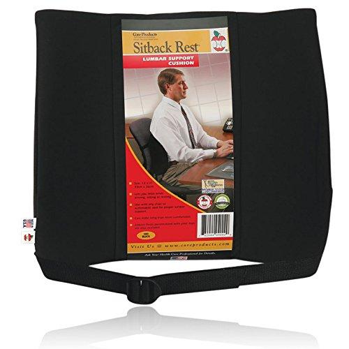 Sitback Standard Lumbar Support Black