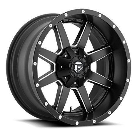 Fuel Maverick 17 Black Wheel / Rim 6x135 & 6x5.5 with a -12mm Offset and a 106.4 Hub Bore. Partnumber D53817909845
