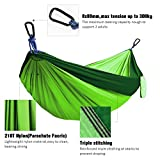Kootek Double Camping Hammock Portable Indoor Outdoor Tree...