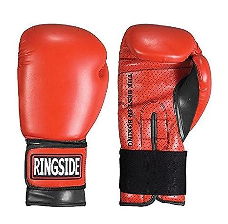 Ringside Youth Extreme Fitness Boxing Gloves, Black BG13 BLACK..YTH