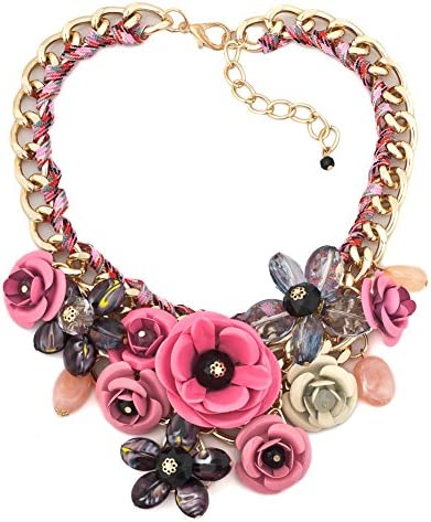 ReisJewelry Chunky Statement Necklace Jewelry