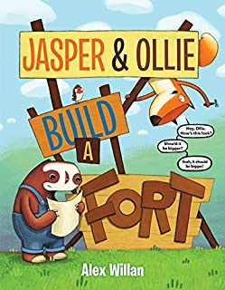 Book Cover: Jasper & Ollie Build a Fort
