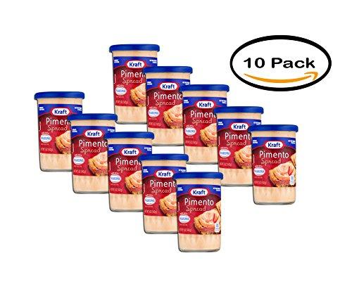 - PACK OF 10 - Kraft Pimento Spread, 5.0 OZ