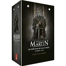 As Crônicas de Gelo e Fogo - Caixa com 3 Volumes