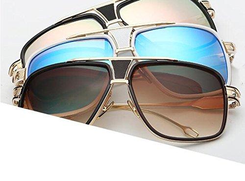 Soleil Grande Amoureux Lunettes De En Soleil Gray Métal S De Mode Dames Hommes Polarisées Boîte Lunettes Lunettes Vintage De Soleil aYzY1U