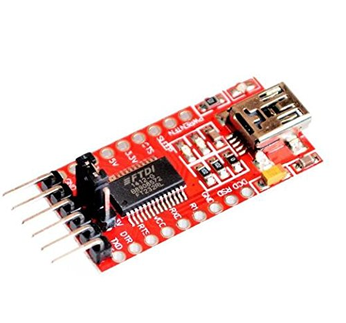 KINWAT 5PCS FT232RL FT232 USB to TTL 5V 3.3V Download Cable to Serial Adapter Module for Arduino USB to 232 -  V2-K23-W552