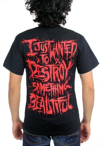 negro en For God Men negro Aborted camiseta Machine qp6wx0ZS
