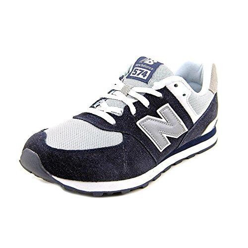 New Balance Kl574nwg-574, Zapatillas Unisex Niños dunkelblau / grau