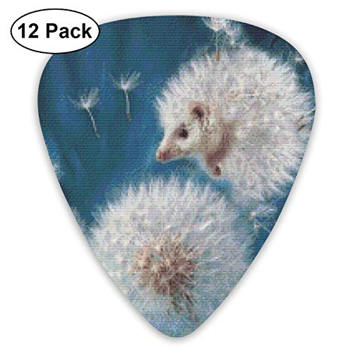 V5DGFJH.B Dandelion Hedgehog Classic Guitar Pick Player's Pack
