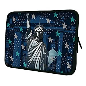 """hao Statue of Liberty 7"""" 10"""" Protective Sleeve Case for P3100/P6800/P5100/N8000 , 7"""""""
