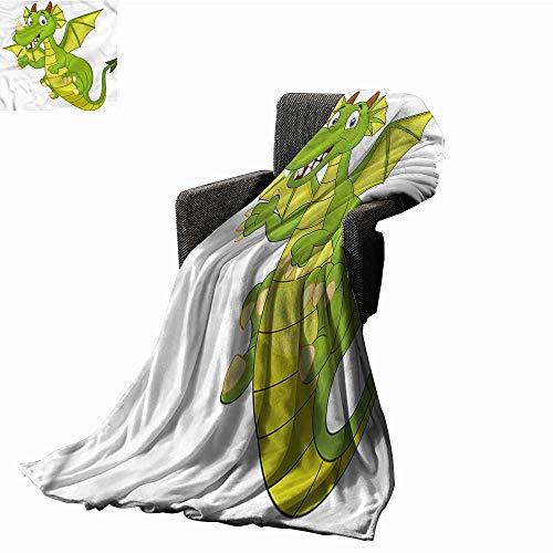 RenteriaDecor Blankets Boys Room,Fairy Tale Character Custom Blankets W60 x L50 inch ()