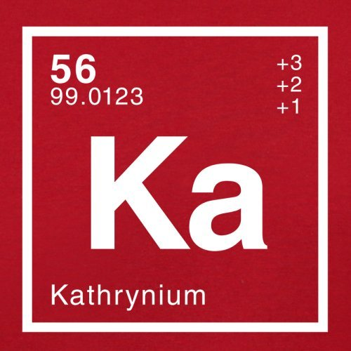 Red Bag Flight Periodic Element Retro Kathryn Dressdown qnO1FAw