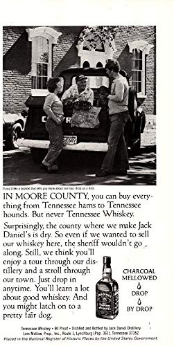 (Magazine Print ad: 1982 Jack Daniels Old No 7 Tennessee Whiskey,