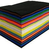 100 Sheet Assorted Acrylic Craft Felt