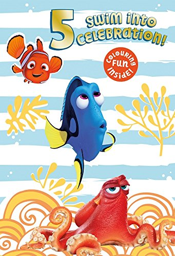 (Finding Dory 5th Birthday Card )