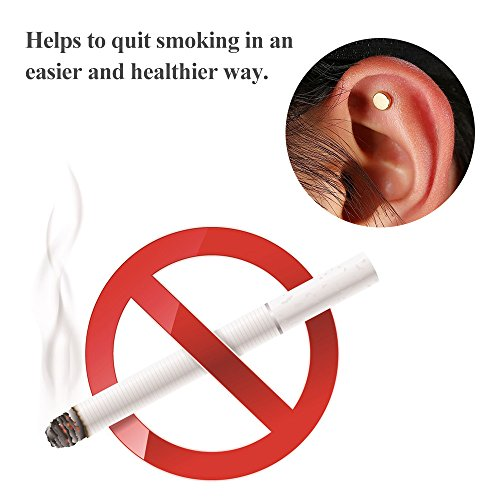 2Pcs Stop Smoking Aid Patches Health Care Magnet Quit Smoking Acupressure Patch by Walmeck (Image #2)