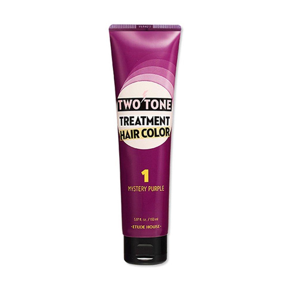Etude House Two Tone Treatment Hair Color 150ml (#01 Mystery Purple)