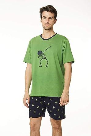 Pijama Hombre Esqueleto Divertido: Amazon.es: Ropa