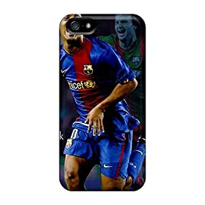Tpu Phone Case With Fashionable Look For Iphone 5/5s - The Football Player Of Atletico Mineiro Ronaldinho Is Incredible Player
