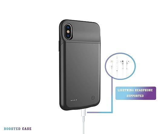 Amazon.com: Ultra Slim iphone funda de carga de batería para ...