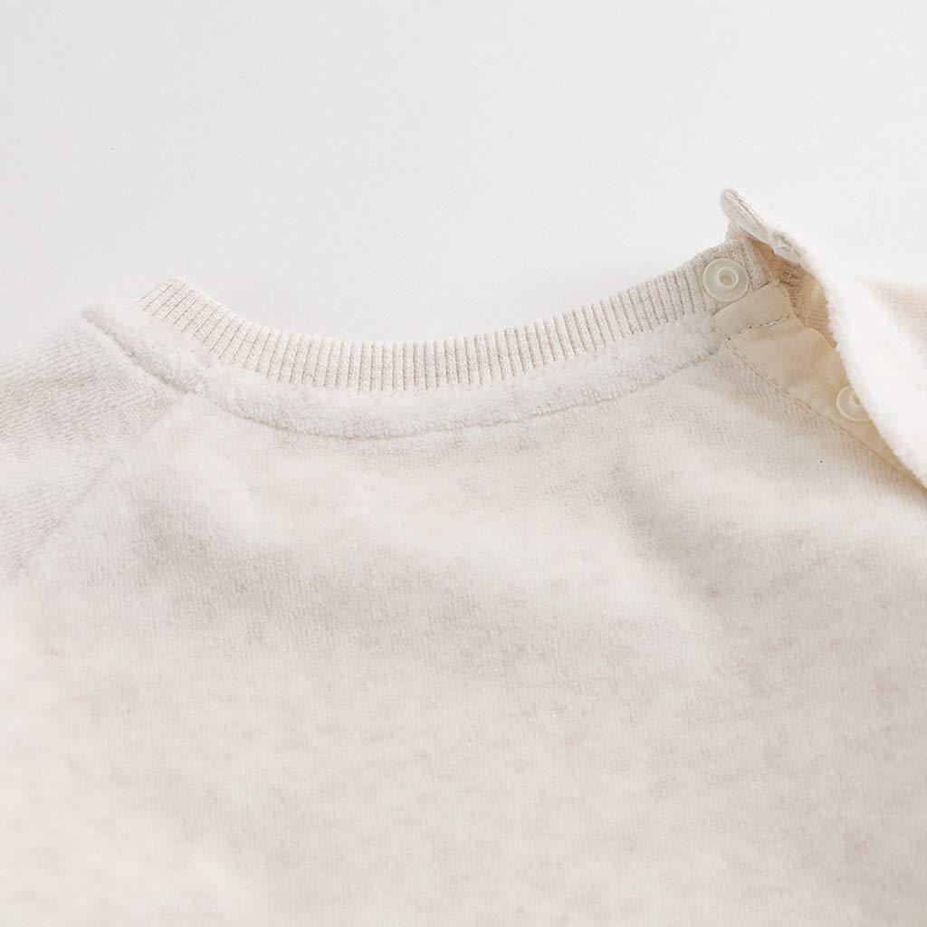 marc janie Baby Girls Autumn Velvet Sweatshirts Pants Set