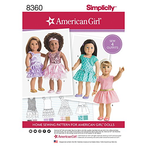 Simplicity Creative Patterns US8360OS Sewing Pattern Crafts, One Size