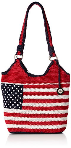 The Sak Ellis Tote Shoulder Bag, Flag, One Size