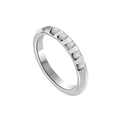 2ab37f28ac 0.50ct H/SI1 Diamant Ewigkeit Memoire Ring für damen mit Runder  Brillantschliff diamanten in