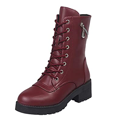 STIVALI STIVALETTI DA donna texani caviglia moto invernali