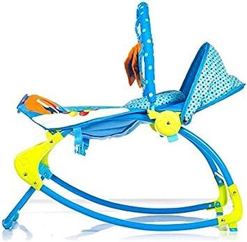 Care Bleu Circus /à bascule Fauteuil /à bascule Transat musical m/élodies apaisante vibrations b/éb/é Rebondir Fauteuil inclinable avec 3/jouets /à suspendre.