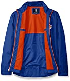 G-III Sports NBA New York Knicks Men's Breaker Full Zip Jacket, X-Large, Royal