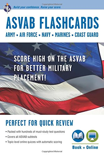 ASVAB Flashcard Book Military Preparation product image