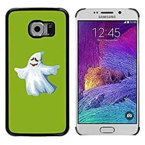 Stuss Case / Funda Carcasa protectora - Ghost White Funny Scary Cute Ku Klux Klan - Samsung Galaxy S6 EDGE SM-G925