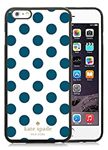 Popular Customize iPhone 6plus Phone Case Kate Spade New York Unique TPU Cover Case For iPhone 6plus 5.5 Inch 298 Black