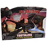 Spin Master 6019879  -  DreamWorks Dragons  -  Night Strike Ohnezahn Deluxe