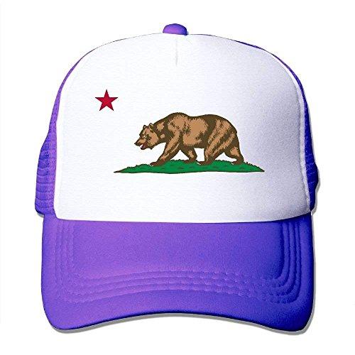 Hats For Hot Trucker Bear Mesh C54 Adjustable Popular Black Cool Logo Flag California Hat Cap Unisex Caps zwqSXxPOz